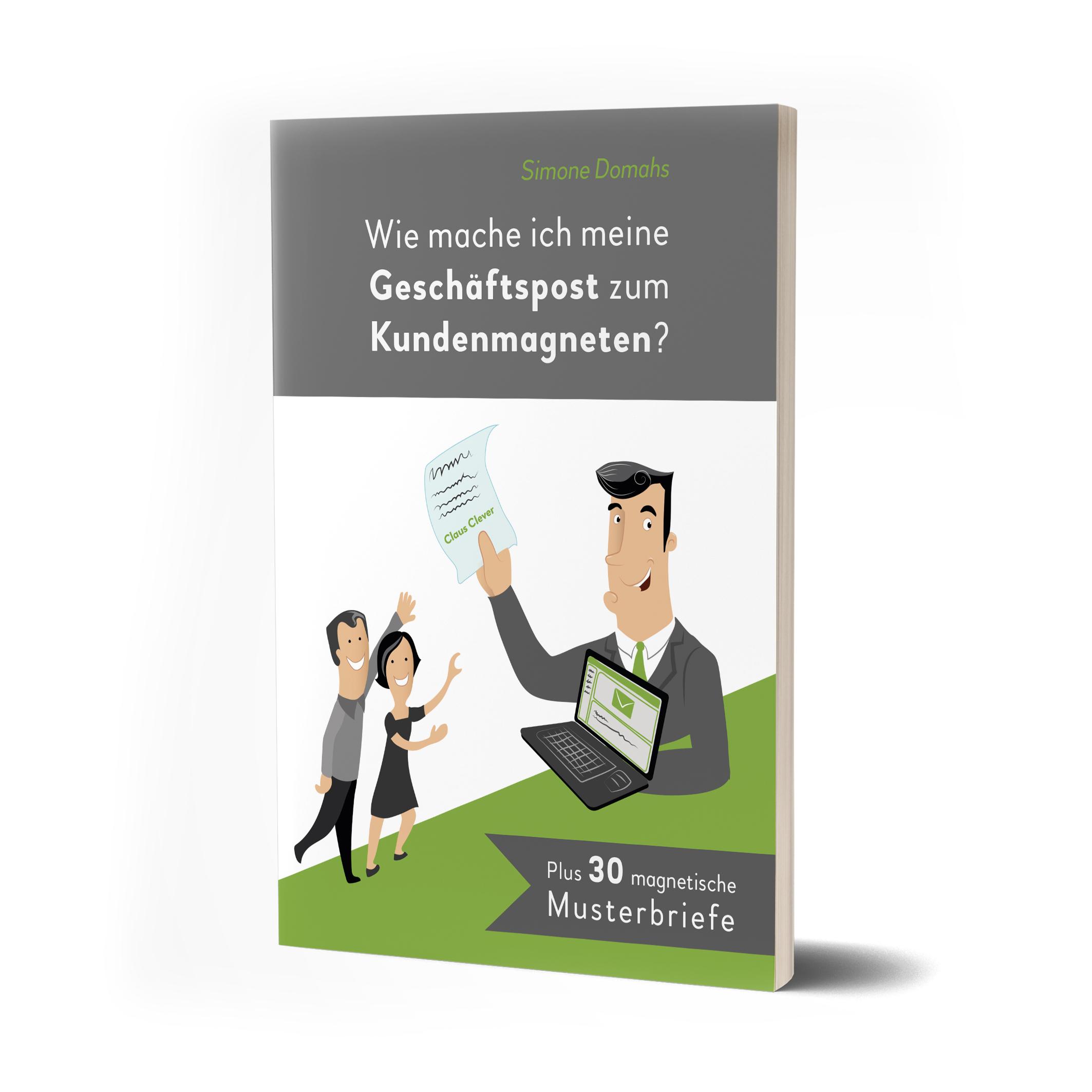 Buch Simone Domahs Wie mache ich meine Geschäftspost zum Kundenmagneten?